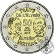 France, 2 Euro 2013, 50th anniversary of the Elysee Treaty