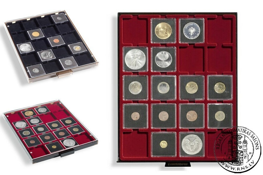 Купить leuchtturm. квадратная капсула для монеты quadrum 27,.