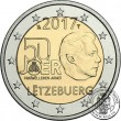 Luxembourg, 2 Euro 2017, Military Service